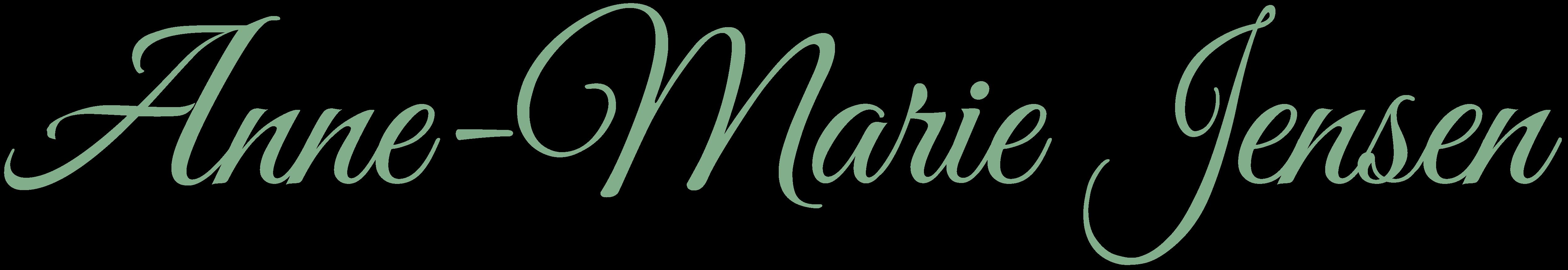 Signatur tekst - Psykoterapeut Anne-Marie Jensen